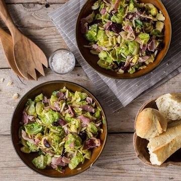 Rezept Herbstsalat mit Rosenkohl und Cranberries