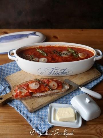 Rezept Hering in Tomatensauce