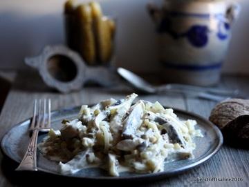Rezept Heringssalat in Senfcreme