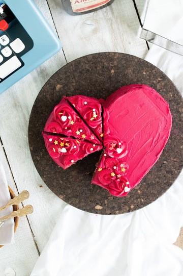 Rezept Hertorte für den Valentinstag