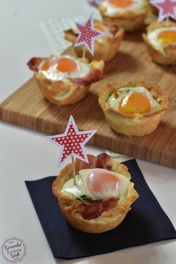 Rezept Herzhafte Eier-Muffins