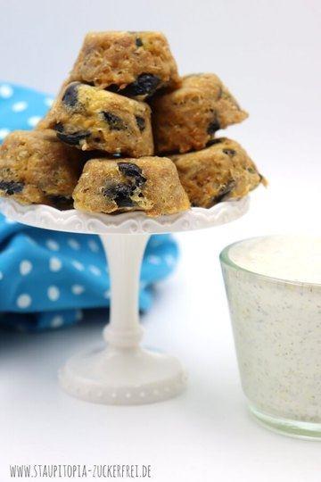 Rezept Herzhafte Low Carb Muffins mit Thunfisch und Oliven