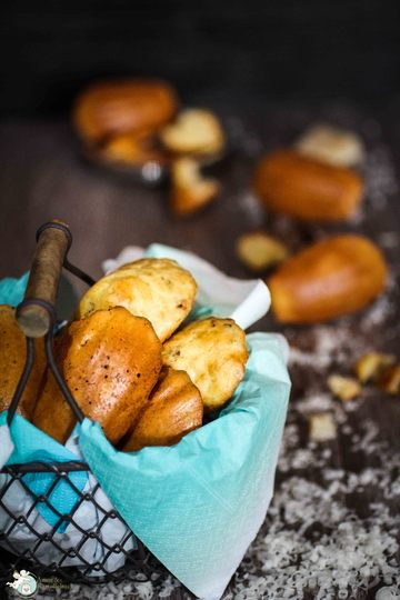Rezept Herzhafte Madeleines mit Speck und Parmesan