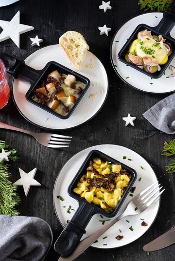 Rezept Herzhafte und Süßes Raclette Ideen