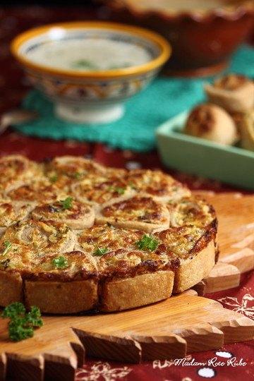 Rezept Herzhafte Zwiebel-Käse-Schneckennudeln