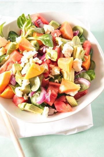 Rezept Herzhafter Papaya Salat