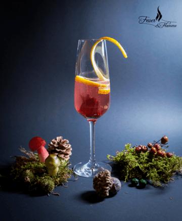 Rezept Hibiskusblüten-Orangen Aperitif