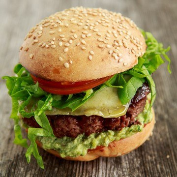 Rezept Hickory Smoked Burger