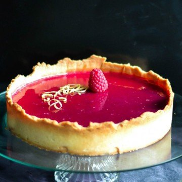 Rezept Himbeer Cheesecake Tarte