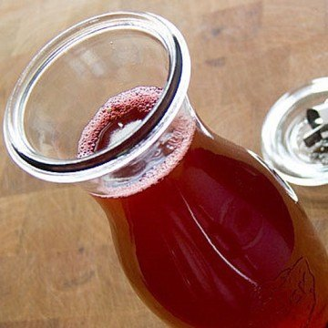 Rezept Himbeer-Essig