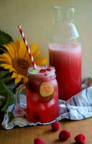 Rezept Himbeer - Ingwer - Limonade