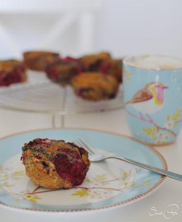 Rezept Himbeer-Kokos-Muffin