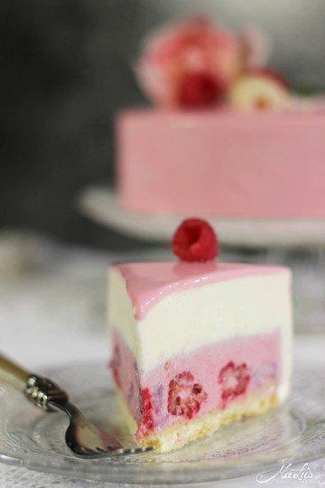 Rezept Himbeer-Lychee-Rosen Torte 'Ispahan'
