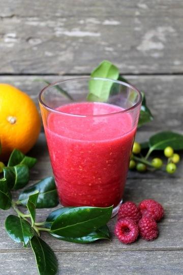 Rezept Himbeer-Orange-Acerola-Saft