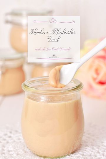 Rezept Himbeer-Rhabarber-Curd cremig lecker