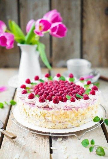 Rezept Himbeer-Sahne-Torte à la Grand-mère