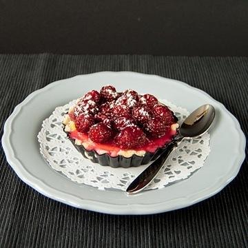 Rezept Himbeer-Tartelette