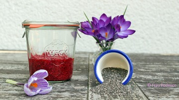 Rezept Himbeermarmelade ohne Zucker