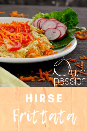 Rezept Hirse-Frittata