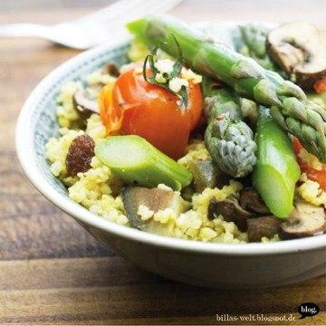 Rezept Hirserisotto, vegan & glutenfrei