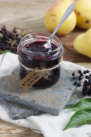 Rezept Holunder Birnen Marmelade