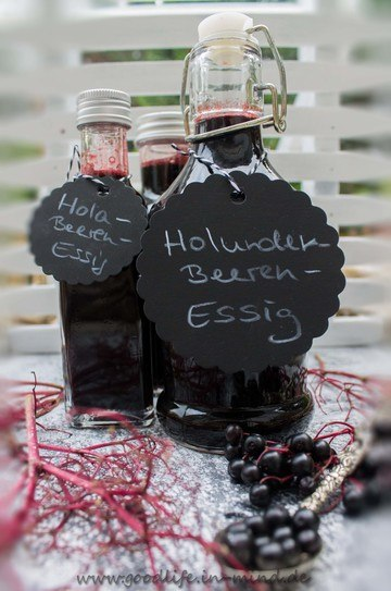 Rezept Holunderbeeren-Essig