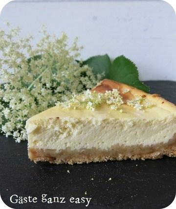 Rezept Holunderblüten-Cheesecake