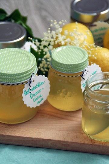 Rezept Holunderblüten-Prosecco-Gelee
