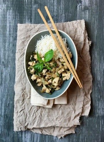 Rezept Holy Basil Stir Fry - Huhn mit scharfem Basilikum