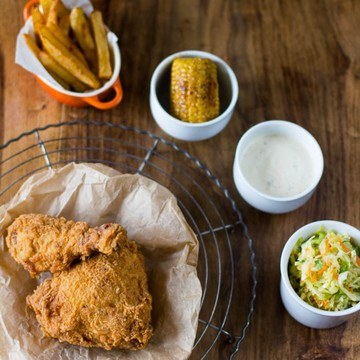 Rezept Homemade Fried Chicken