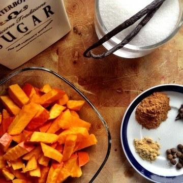 Rezept Homemade Pumpkin Spice Syrup