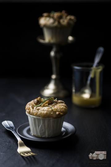 Rezept Honigkuchen Muffins mit Rosmarin