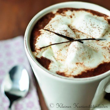Rezept Hot Chocolate Deluxe