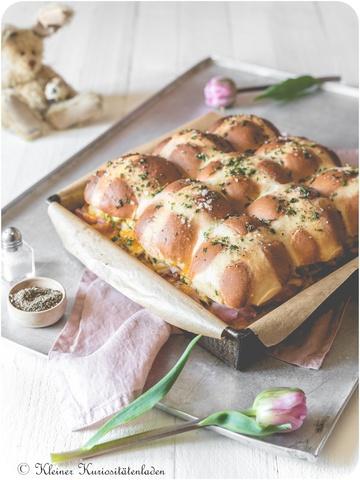 Rezept Hot Cross Bun Breakfast Sliders
