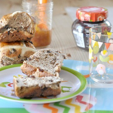 Rezept Hot Cross Bun