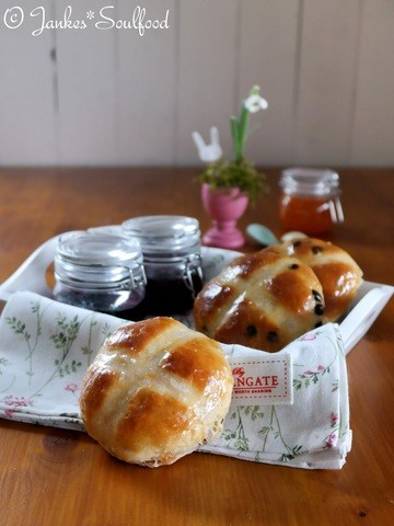 Rezept Hot Cross Buns