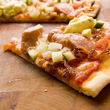 Rezept Hot Dog-Pizza