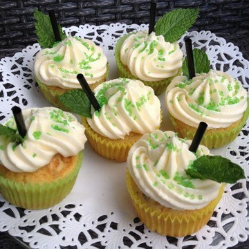Rezept Hugo Cupcakes