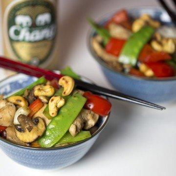 Rezept Huhn mit Cashewkernen