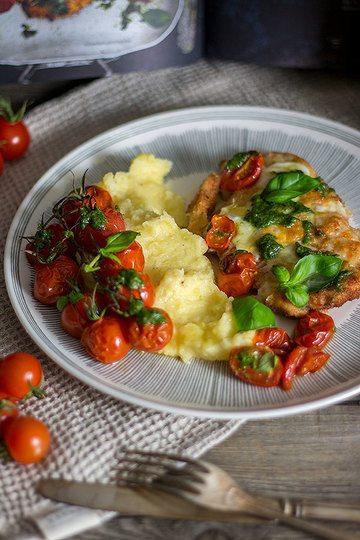 """Rezept Hühnchen Parmigiana aus Donna Hays Kochbuch """"Von einfach zu brillant"""""""