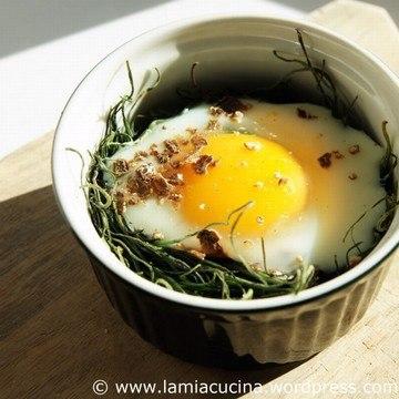 Rezept Hühnerei im Mönchsbartnest