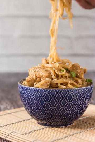 Rezept Hühnerfleisch mit Orangensauce – Asia Style