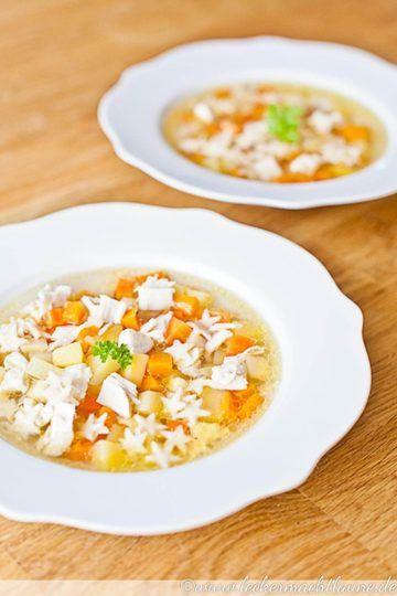 Rezept Hühnersuppe – perfekt bei Erkältung