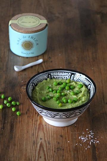 Rezept Hummus mit grünen Erbsen