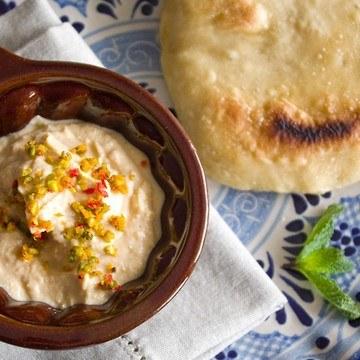 Rezept Hummus mit Orangen-Pistazien-Sprinkle