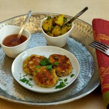 Rezept Indische Fischküechlein
