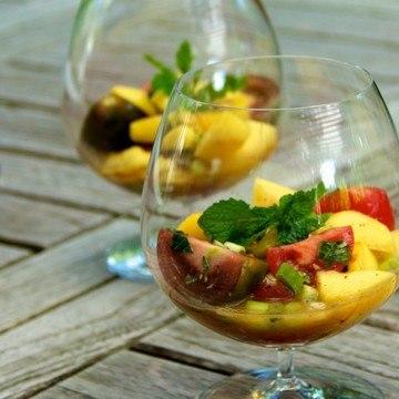 Rezept Indischer Tomaten-Mango Salat