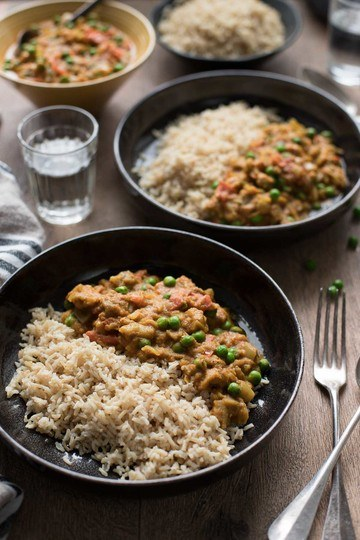 Rezept Indisches Auberginen Curry (vegan)