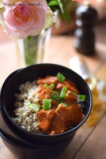 Rezept Indisches Butterhühnchen - Butter Chicken