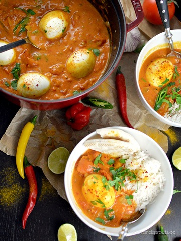 Rezept Indisches Egg Curry